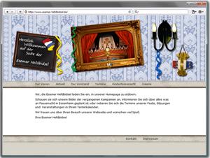 Webseite Esemer Hefdbidsel